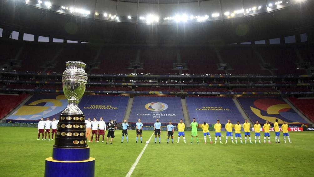 FASE DE GRUPOS: Las posiciones de la Copa América