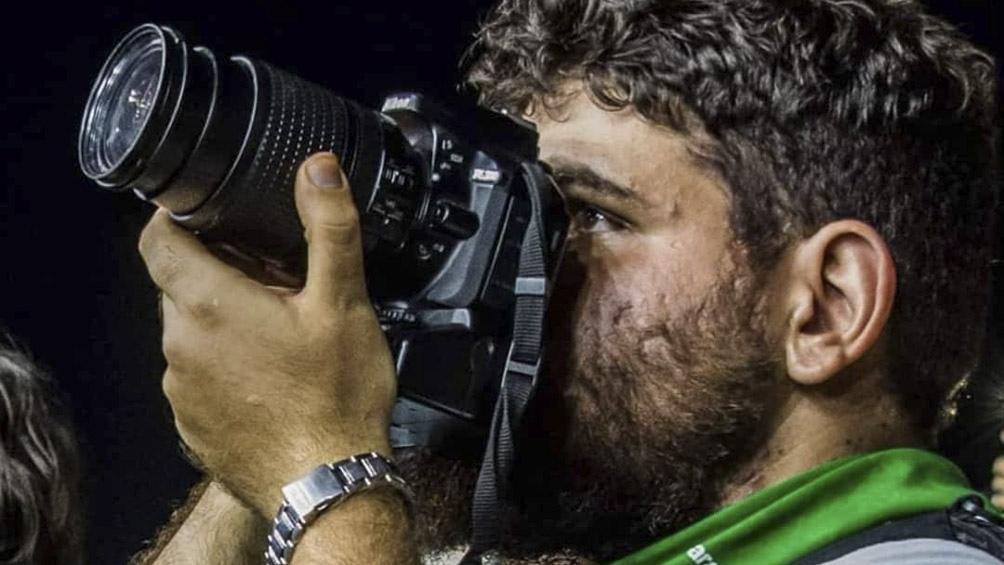 """Avelluto se presentaba en sus redes sociales como """"fotógrafo y militante""""."""
