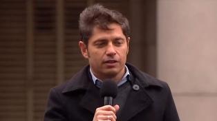 """Kicillof: """"La oposición está en una lucha a cielo abierto por las candidaturas"""""""