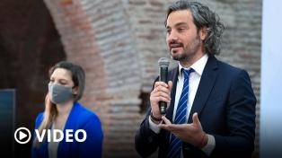 """Cafiero destacó la """"ética de la solidaridad"""" al hablar de erradicar el trabajo infantil"""