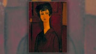 """La tecnología """"deschava"""" a Modigliani y revela el rostro de una mujer que el artista quiso borrar"""