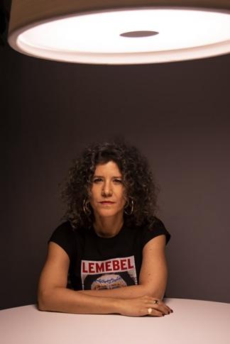 La cineasta chilena Joanna Reposi Garibaldi.