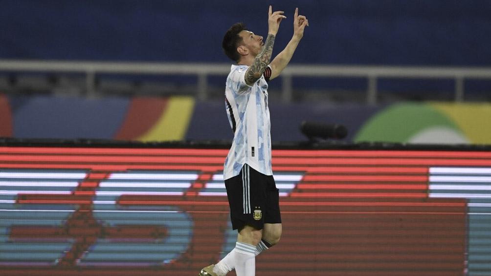Messi, goleador y efectivo en tiros libres (foto archivo)