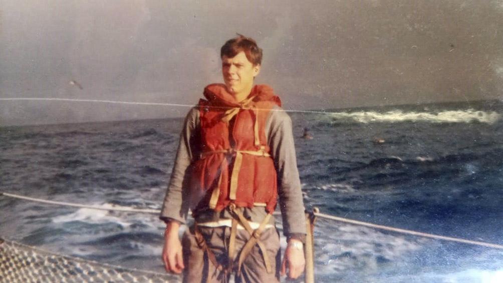 Schweighofer tenía 21 años cuando fue a la guerra.