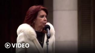 """Cristina Fernández pidió """"dejar la vacuna y la pandemia afuera de la disputa política"""""""