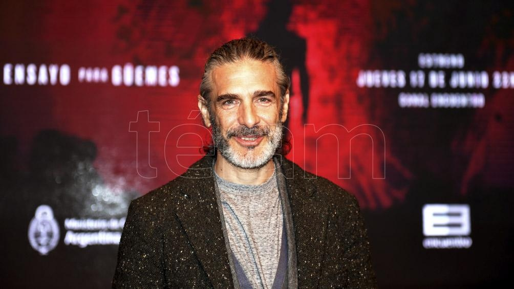 Leonardo Sbaraglia volvió a filmar después de más de un año.