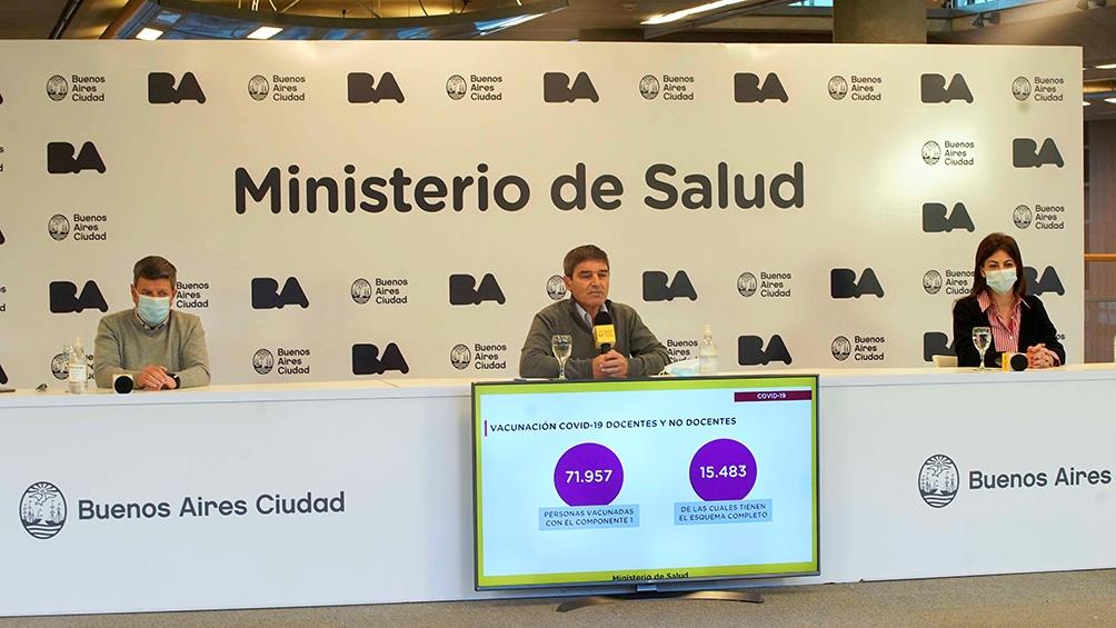 """Quirós manifestó su acuerdo con Cristina Fernández sobre """"no politizar la pandemia"""""""