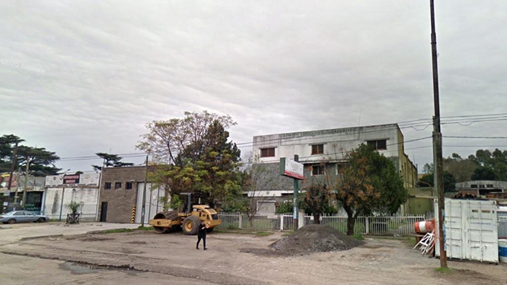 El lugar del hallazgo del cuerpo, una construcción abandonada ubicada en Remedios de escalada y Camino de Cintura.