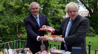 Reino Unido alcanzó un histórico acuerdo de libre comercio con Australia