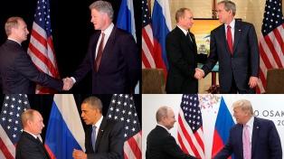 EEUU y Rusia: una historia de cumbres sobre temas borrascosos
