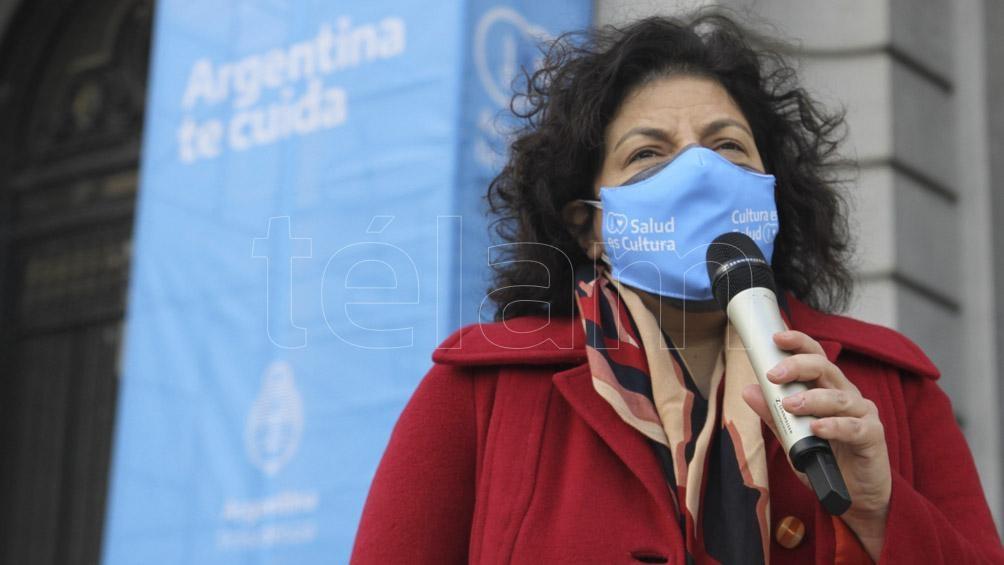 La ministra se refirió a los próximos envíos detalló Vizzotti al participar junto al presidente Alberto Fernández de un acto en el Museo del Bicentenario.