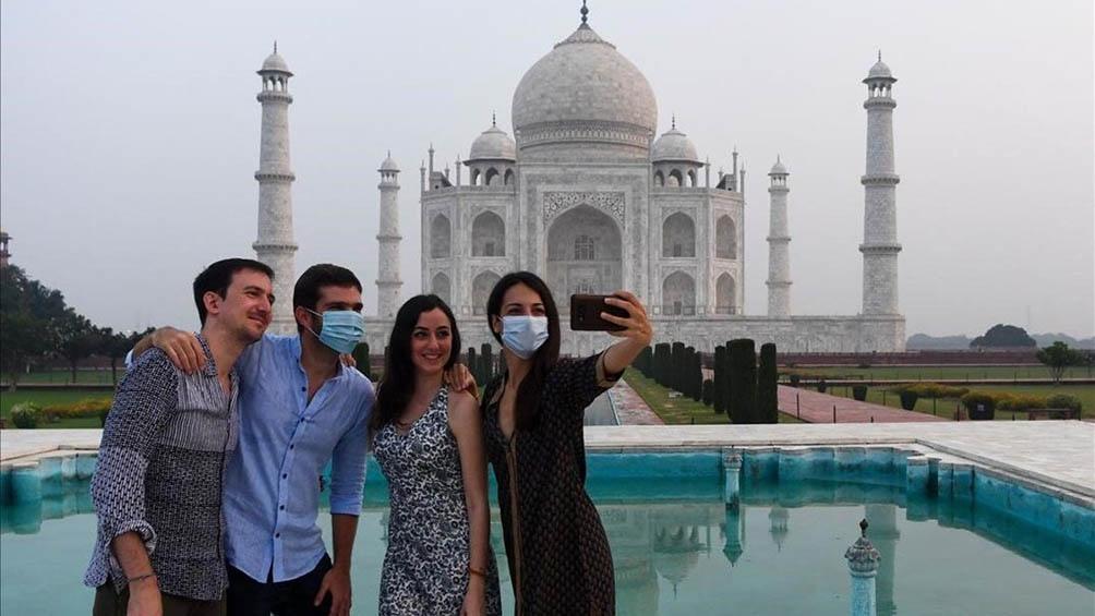 Las autoridades limitaron para el turismo con un cupo de 650 personas diarias.