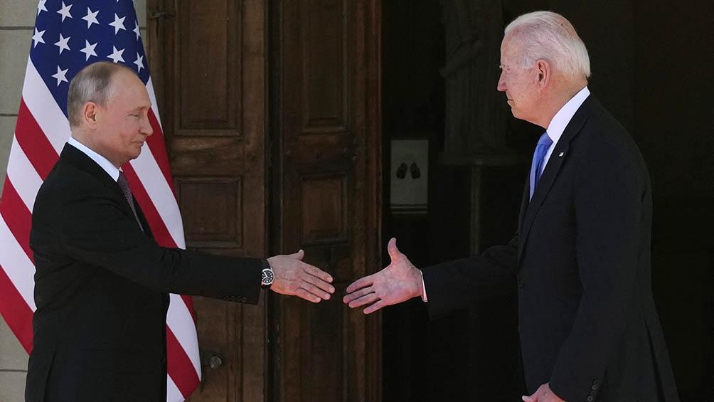 Putin anunció la normalización de las relaciones diplomáticas entre Rusia y EEUU