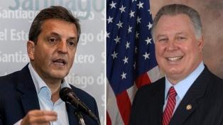 """Em viagem aos Estados Unidos, Presidente dos Deputados destaca que a Argentina """"está bem encaminhada"""" para resolver negociação com FMI"""