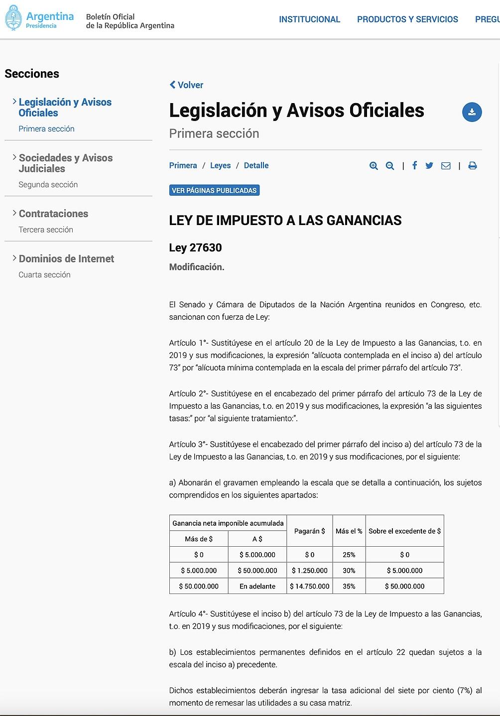 La Ley 27.630 fija las nuevas escalas de Ganancias para las empresas y otorga incentivos para la inclusión de género.