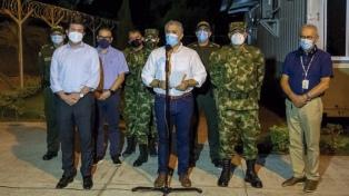 Seis personas detenidas en Colombia por el ataque al helicóptero del presidente Duque