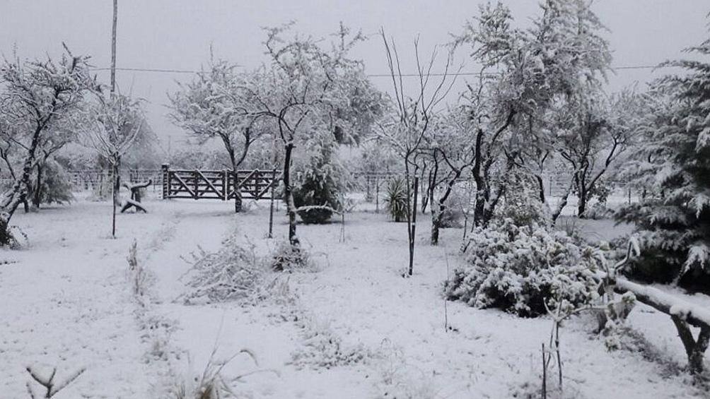 Según la Red de Estaciones Meteorológicas provincial las temperaturas bajas persistirán hasta el sábado inclusive.