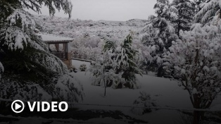 Nevadas y bajas temperaturas en distintas provincias argentinas