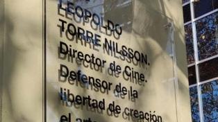 Recuerdan al director Leopoldo Torre Nilsson con la puesta en valor de plaza con su nombre