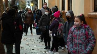 Continúa la advertencia violeta por temperaturas bajas en el centro y norte del país