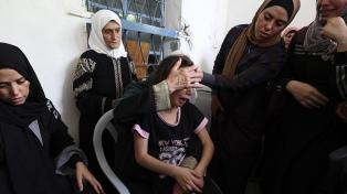 Murió en Cisjordania un adolescente palestino baleado por el ejército israelí