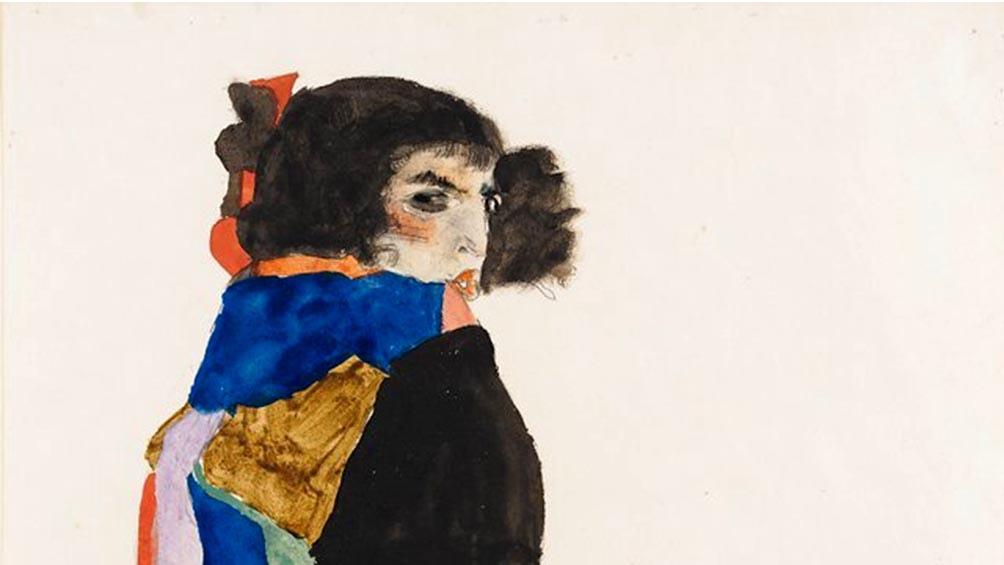 """""""Moa"""" (1911), de Egon Schiele."""