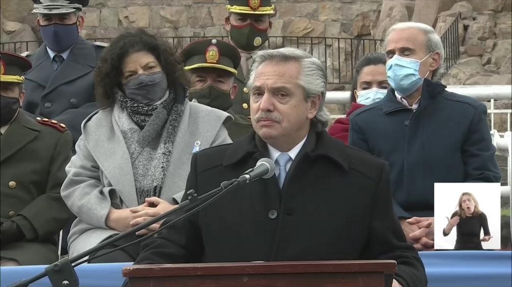 El Presidente participó del acto de homenaje al prócer en la provincia de Salta.
