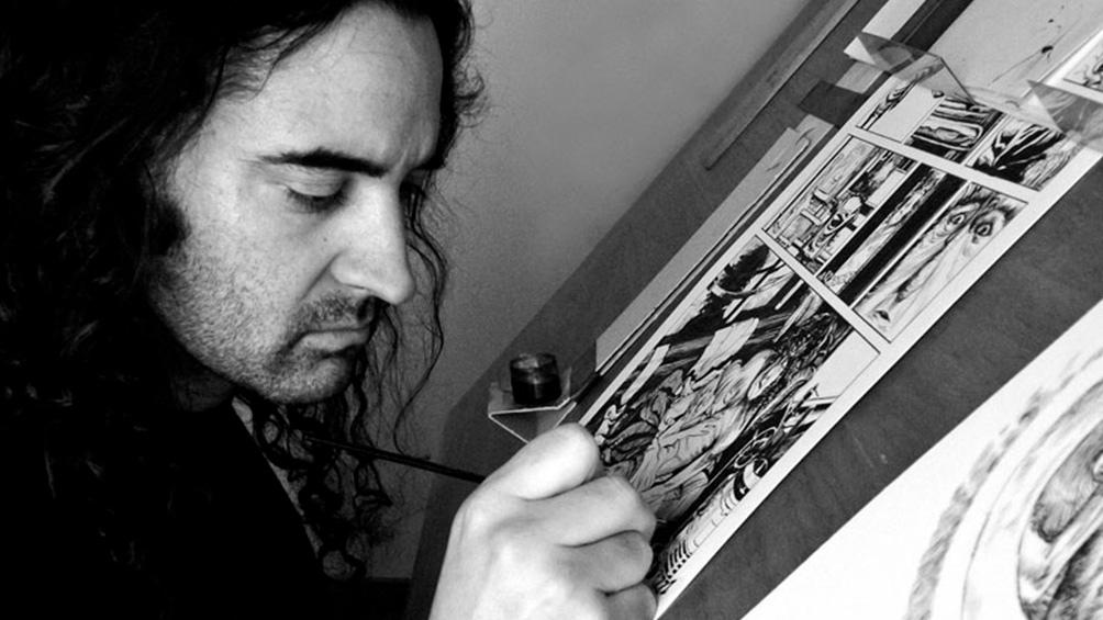 Pablo Guillermo Serafín es artista e historietista y se encargó de la ilustración y el diseño del libro.