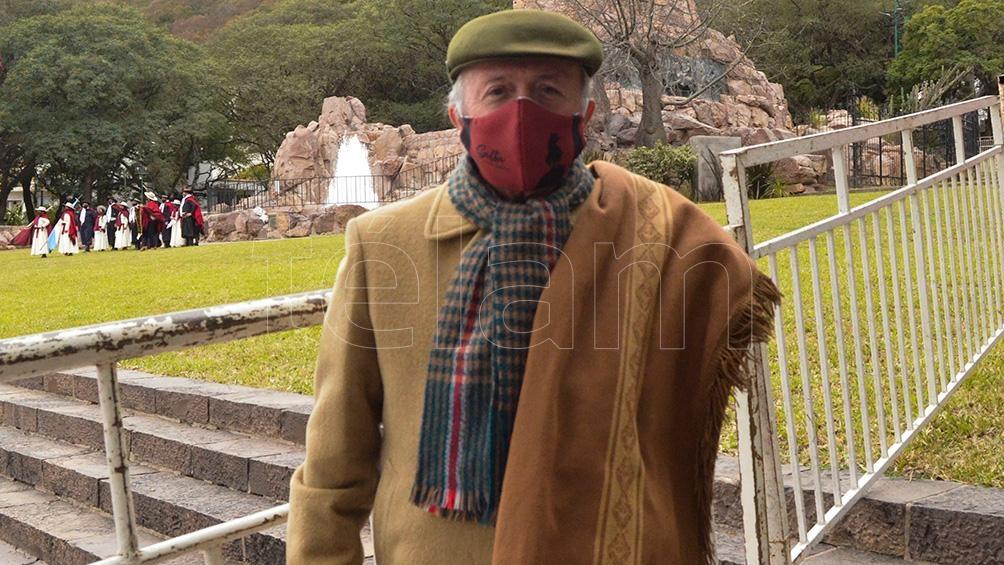 Güemes Arruabarrena recorre elpaís y toda América Latina hablando del prócer.