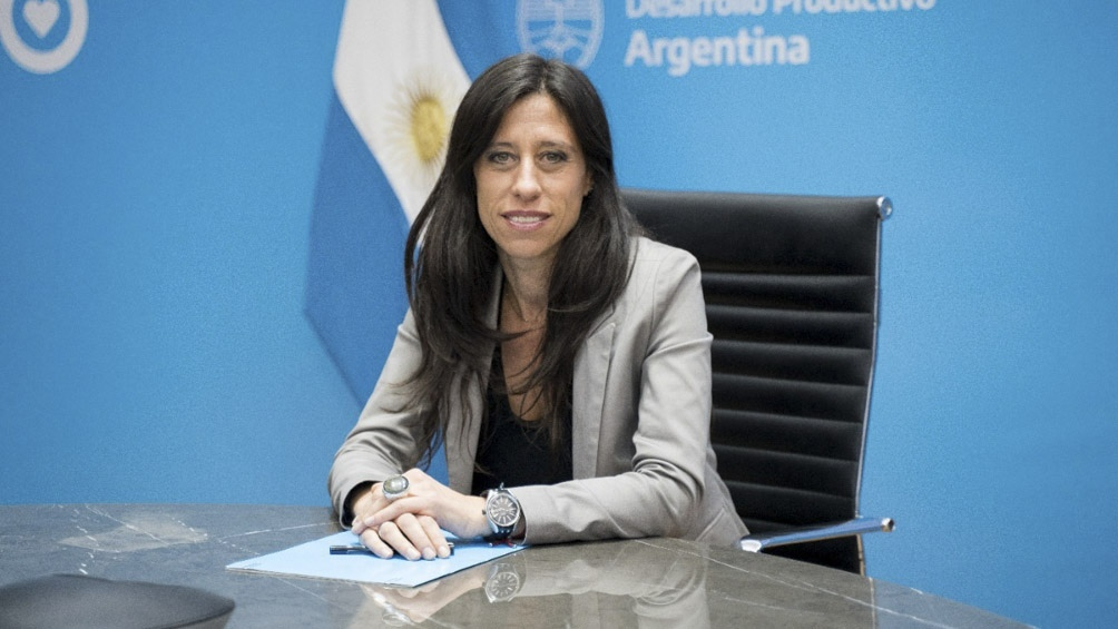 """""""Venimos trabajando en este descenso de la inflación"""", afirmó la secretaria de Comercio Interior Paula Español."""