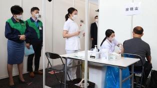 Comenzó la vacunación de los miembros de la organización de los Juegos Olímpicos