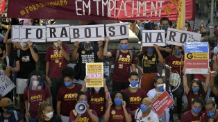 La oposición volverá a las calles para pedir la salida de Bolsonaro