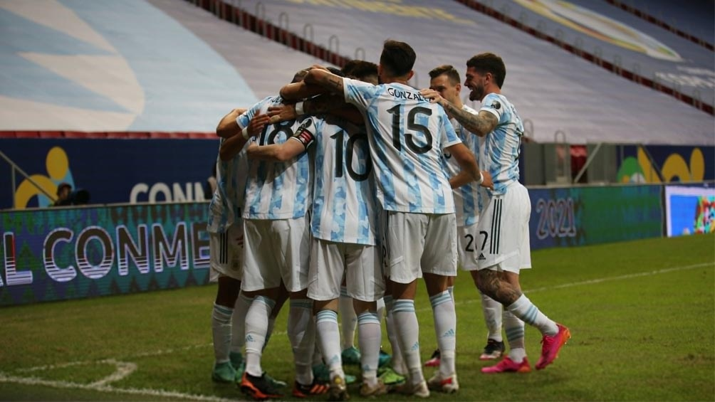Argentina disputó su segundo duelo en esta Copa América 2021 de Brasil por el Grupo A