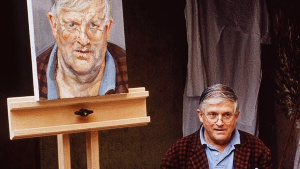 Freud y Hockney compartieron una sesión de cien días para lograr la obra.