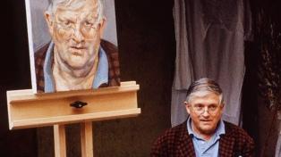 Subastan en Londres el retrato de David Hockney pintado por Lucian Freud