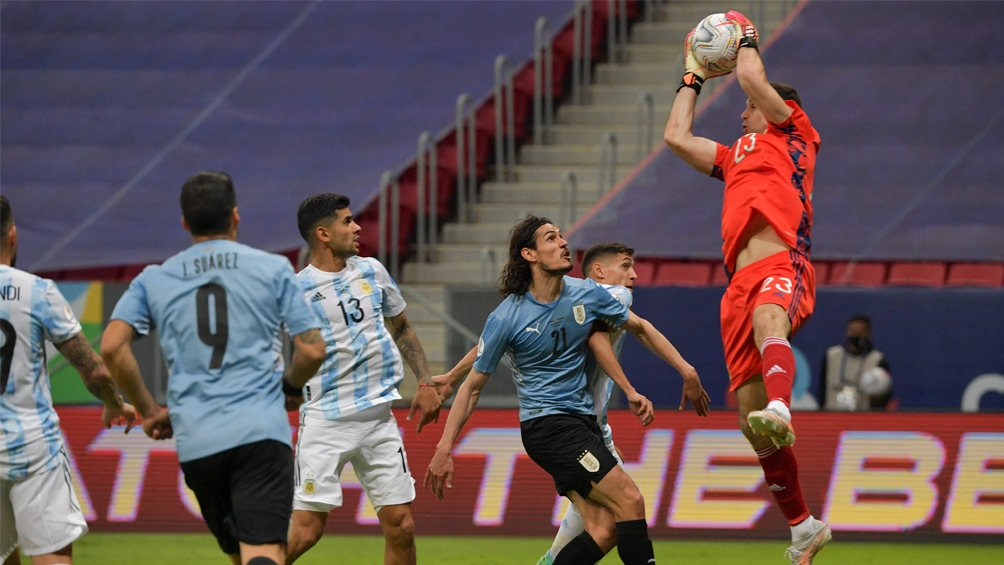 Emiliano Martínez volvió a ratificar la confianza que le ofrece al equipo.
