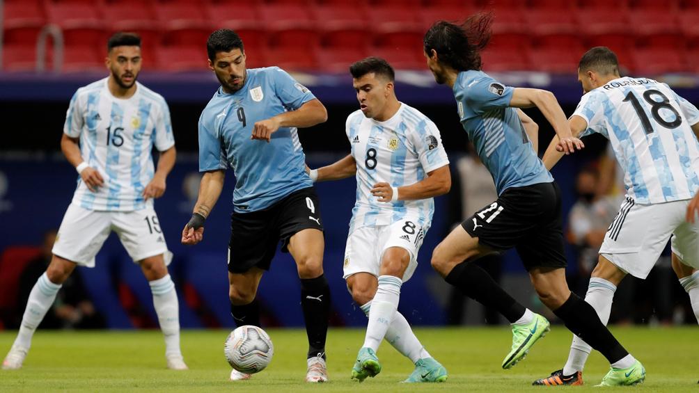 Todas las estadísticas de Argentina - Uruguay