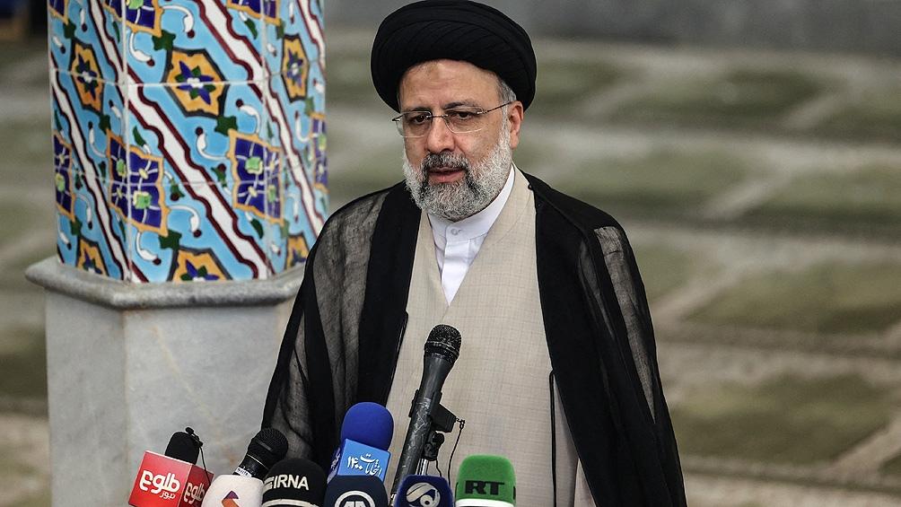Ebrahim Raisi fue electo presidente de Irán en primera vuelta