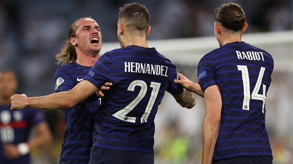 Francia busca seguir de racha ante el seleccionado húngaro (foto: @equipedefrance)