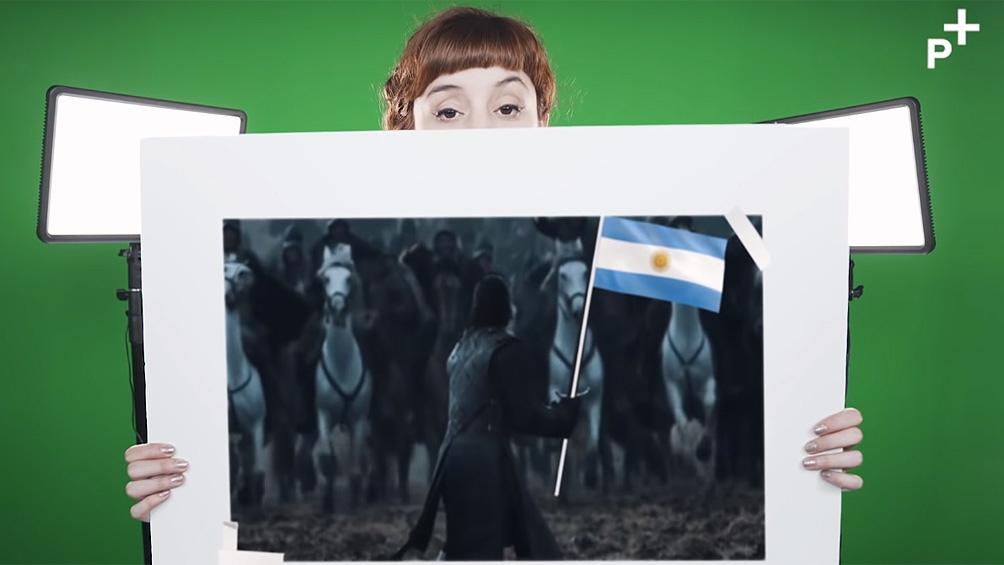 En el Día de la Bandera, la historiadora que enseña con memes, habló de la importancia de de los procesos colectivos.