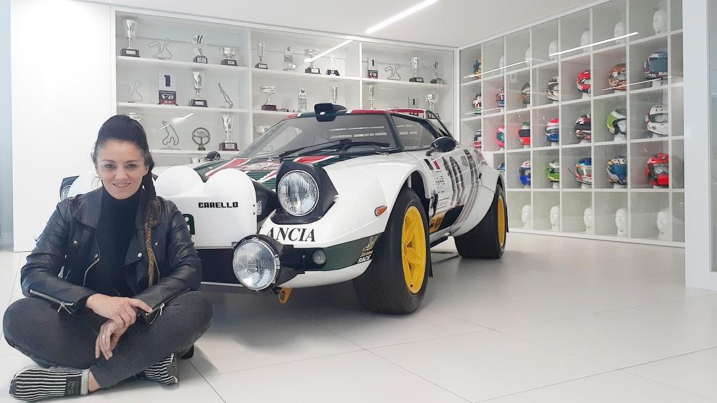 Montesano es artista oficial del Museo Juan Manuel Fangio
