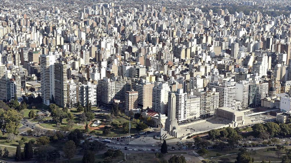 La ciudad de Rosario, escenario y personaje a la vez en la novela.
