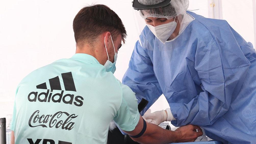 Hasta el momento, el plantel argentino no registró ningún caso de Covid-19.
