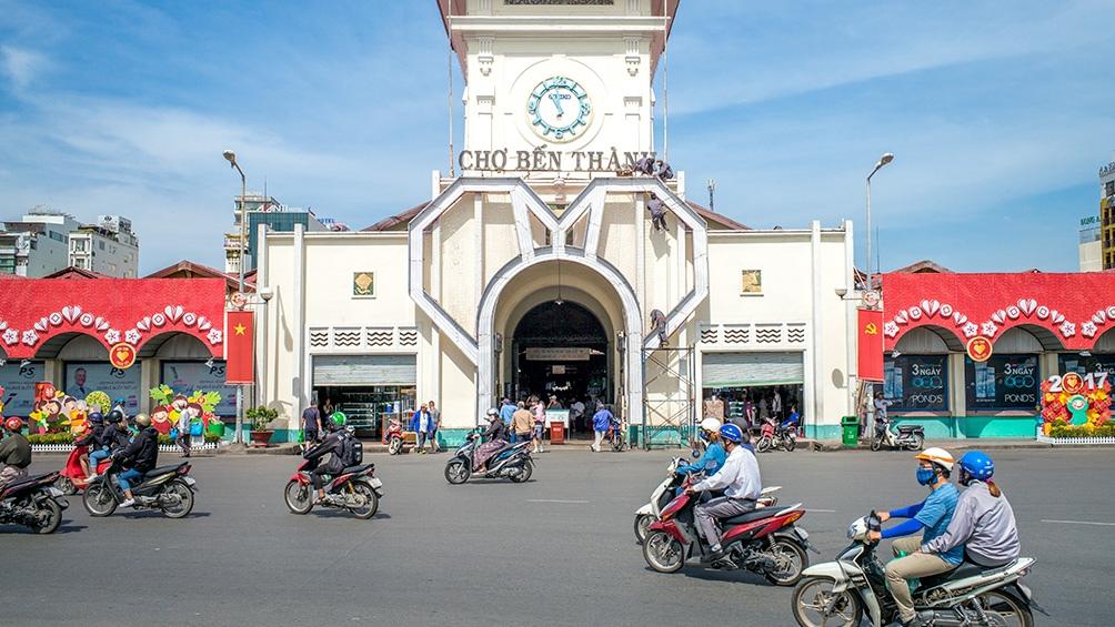 Ho Chi Minh se convirtió en el segundo foco más importante, con 1.561 casos registrados hasta la fecha.