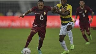 Minuto a minuto del agónico empate de Venezuela ante Ecuador