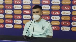 """Leandro Paredes: """"Me siento mejor, estoy bien para jugar"""""""