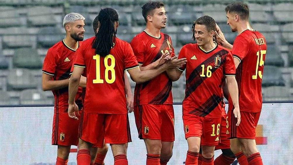 """Bélgica quiere revalidar el mote de """"potencia"""" en la actualidad con los grandes nombres con los que cuenta entre su plantel y juega ante Dinamarca"""
