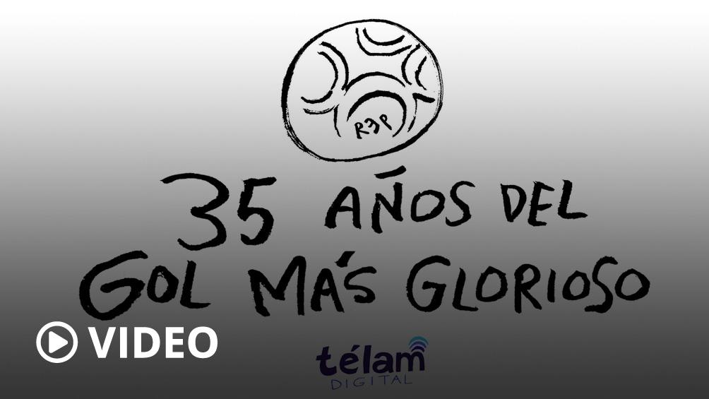 A 35 años del glorioso gol de Maradona