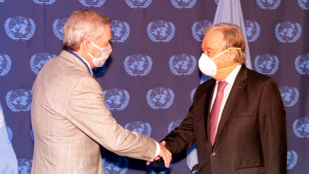 Malvinas: Solá le pidió al secretario general de la ONU que interceda ante el Reino Unido