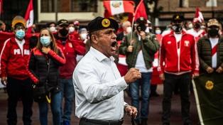 Militares retirados se manifestaron para denunciar fraude en la segunda vuelta presidencial